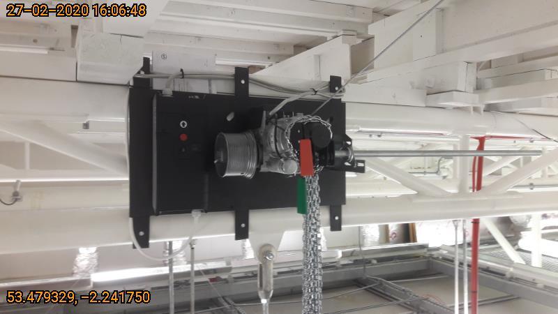 Sectional door motor