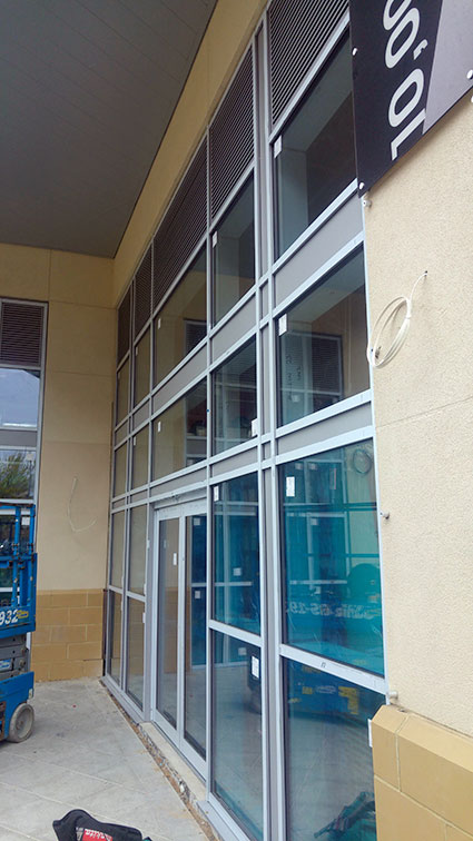 Premier Inn Derby New Glazing Systems And Automatic Door